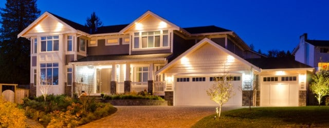 Real Estate Photography at Dusk